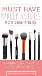 Makeup Basics 10 Must Makeup by Must Makeup Brushes For Beginners And The Bench Press