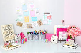 home office diy desk organization tips the classy it youtube