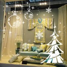 Schlafzimmerfenster Dekorieren Weihnachten Serie Schneeflocke Weihnachtsbaum In Das Neue Jahr Das