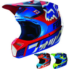 afx motocross helmet fox racing v3 divizion w mips youth dirt bike off road motocross