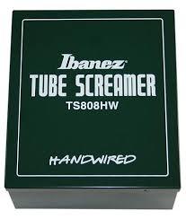 ibanez ts808hw tube screamer hand wired effects database
