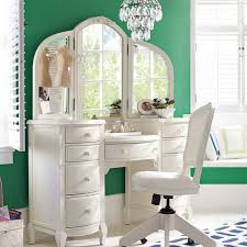 Bobkona St Croix Collection Vanity Set With Stool White Bedroom Furniture Sets With Vanity Video And Photos