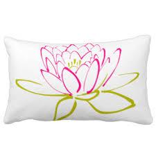 lotus flower pillows decorative u0026 throw pillows zazzle