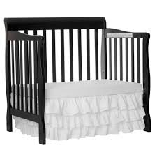 Folding Mini Crib by Dream On Me 3 In 1 Aden Convertible Mini Crib Black 628k U2013 Ny