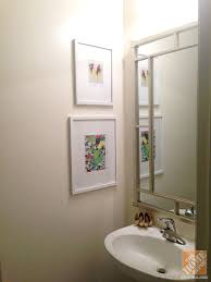 Bathroom Art Ideas For Walls Colors Half Bath Decorating Accent Wall And Accessories That Pop