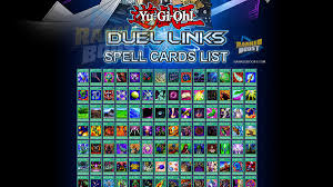 yu gi oh duel links spell card list all spell cards in duel links