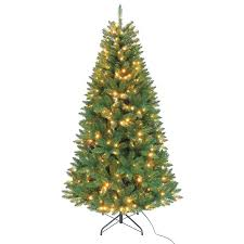 kurt adler pre lit 84 green artificial tree with led