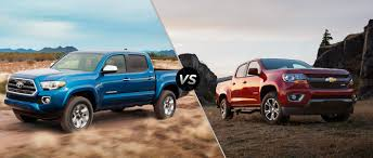 Tacoma Redesign 2016 Toyota Tacoma Vs 2016 Chevy Colorado