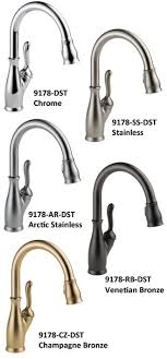 Kitchen Faucet Finishes Delta Leland 9178 Dst Best Faucets Review For Pull Comes In