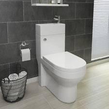all in one bathroom dual toilet u0026 basin sink combination cloakroom