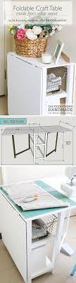 Corner Craft Desk Remodelaholic Foldable Craft Table Made From Scrap Wood Folding