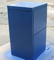 painting a file cabinet paint a file cabinet blue 5 rev dollar store crafts