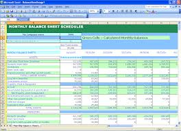 Excel Balance Sheet Template Free Excel Templates Self Calculating Balance Sheets