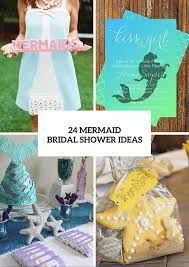 Ideas For Bridal Shower by 24 Mermaid Bridal Shower Ideas For Fairytale Lovers Weddingomania