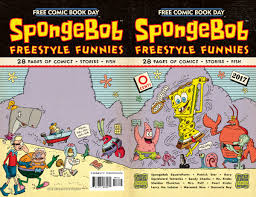 spongebob squarepants prepares for u0027no charge funnybook day