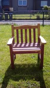 Outdoor Furniture For Sale Perth - solid wooden wide garden chairs for sale in perth perth and