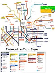 Melbourne Tram Map Melbourne U0027s Public Transport Network Maps Album On Imgur