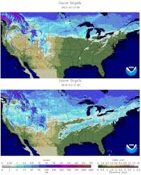 us cover map noaa us cover depth right now vs last year snowbrains
