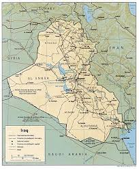 map of irak iraq maps perry castañeda map collection ut library