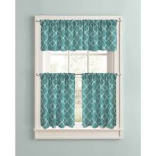 Vinyl Window Curtains For Shower Kitchen Cafe Curtains Teal Curtains Kitchen Window Curtains