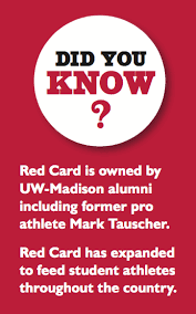 Uw Madison Business Cards Home Red Card Meal Plan