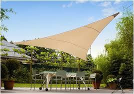 backyards terrific luxury umbrellas ingenua 13 foot triangular
