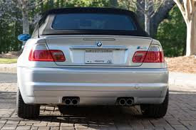 e46 2004 bmw m3 convertible mt 85k rare color pristine