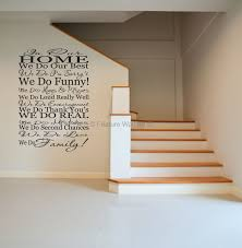family quotes wall decals we do family vinyl art wall stickers