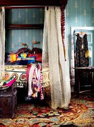 Bohemian Bed Canopy Bedroom Captivating Images Of Various Bohemian Bedroom Furniture
