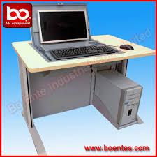 computer desk monitor lift screen flip up security box lcd monitor lift desktop socket