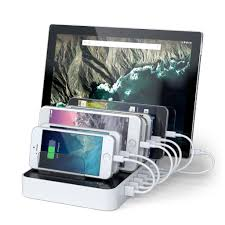 7 port usb charging station dock w 2 type c ports u2013 satechi