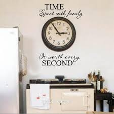 aliexpress com buy time spent with family quote wall decoration getsubject aeproduct