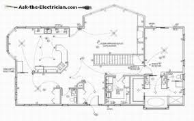 Floor Plan Electrical Symbols Electrical Wiring Diagrams