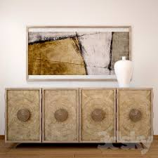 Hooker Credenza 3d Models Sideboard U0026 Chest Of Drawer Hooker Furniture Living