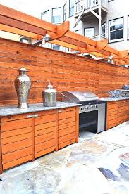 Barbecue Cabinets Outside Kitchen Island Island Built In Barbecue Grills Outdoor