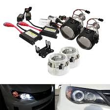 nissan 350z bi xenon headlights amazon com ijdmtoy 2 5