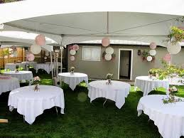 small backyard wedding ideas backyard decorations by bodog