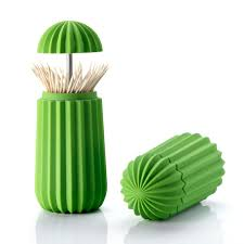 essey products cactus toothpick holder