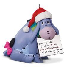 winnie the pooh eeyore a letter to santa 2017 hallmark keepsake