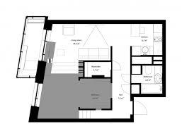 super small studio apartment under 50 square meters includes