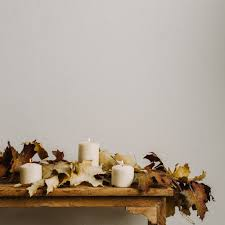 fall garland crafted autumn leaves garland magnolia market chip joanna gaines