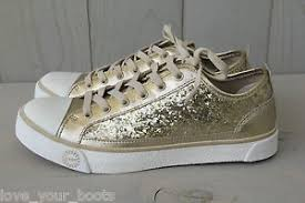 ugg sneakers sale evera glitter chagne gold sparkle sneakers shoes us 7 eu 38 uk