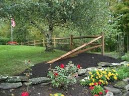 Backyard Corner Landscaping Ideas by Pinmydreambackyard Split Rail Fence Just A Couple Sections And