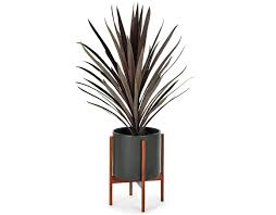 modern planters our square stainless steel planters give your