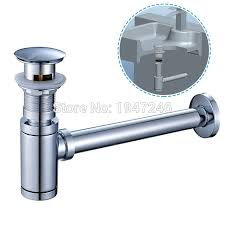 Pop Up Kitchen Sink Waste Bathroom Kitchen Vessel Vanity Sink Waste Drain P Trap Kit And Pop