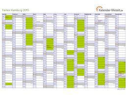 Kalender 2018 Hamburg Schulferien Ferien Hamburg 2015 Ferienkalender Zum Ausdrucken