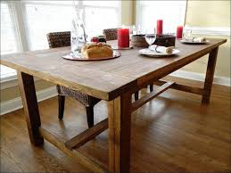 Kitchen  Long Dining Room Table Sets Distressed Tuscan Dining - Long kitchen tables