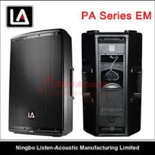 empty plastic speaker cabinets china empty plastic cabinet manufacturer supplier ningbo listen