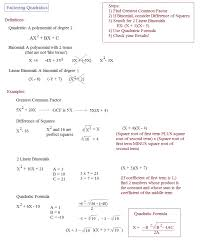 math plane factoring quadratics