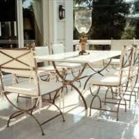 Rod Iron Dining Chairs Dining Room Inspiring Outdoor Dining Table Design With Rectangular